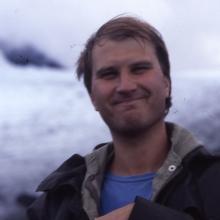 Fjällvandring 1986 - på glaciären