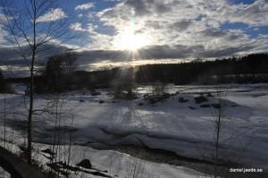 The Vindel river 8 March 2015